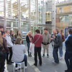 •Schüler der Klasse HWPA 2  mit Beate Adler, Marianne Strieker und Sven Blömer