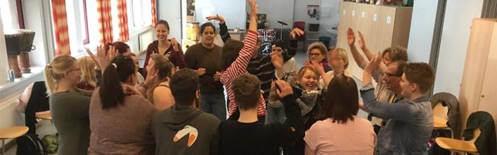 Integrativer Musikworkshop für angehende Heilerziehungspfleger