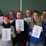 Museumsleiter dankte den Schülerinnen und Schüler der Justus-von-Liebig-Schule für ihr Engagement anlässlich der 20. Burgmannentage