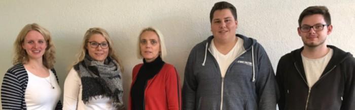 Gespräch der Schülervertretung mit Frau Ahlers vom Landkreis Vechta über die Parkplatzsituation an der Justus-von-Liebig-Schule