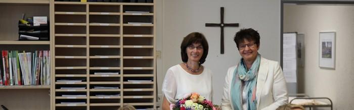 Agnes Herzog in den Ruhestand verabschiedet