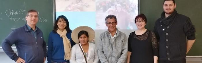 Besuch aus Bolivien in der FOS A 2