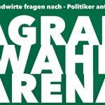 Ankündigung: Agrarwahlarena am 08.09.21